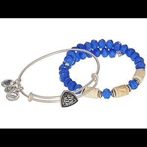 Alex & Ani Navy Vessel Set of 2 Bracelet Set
